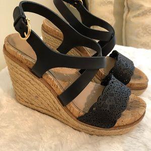 8f8346c0389 Salvatore Ferragamo Shoes - Ferragamo gioela espadrilles wedges black 6